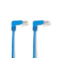 SpaceGAIN CAT5e F/UTP 90° Angled Patch Cable