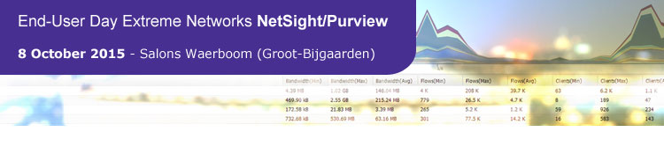 End-User Day Extreme Networks NetSight Purview