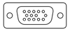 HD type hd15-Pin Video VGA connector image